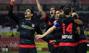 Sevilla 2-2 Atletico Madrid