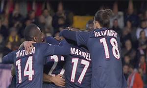 Valencia 1-2 Paris Saint-Germain