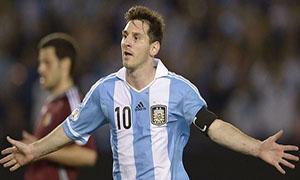 Argentina 3-0 Venezuela