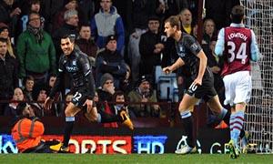 Aston Villa 0-1 Manchester City
