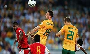 Australia 2-2 Oman