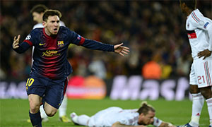 Barcelona 4-0 AC Milan