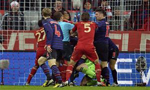 Bayern Munich 0-2 Arsenal
