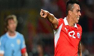 Chile 2-0 Uruguay