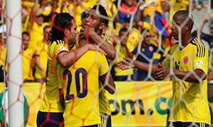 Colombia 5-0 Bolivia