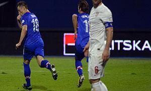 Croatia 2-0 Serbia