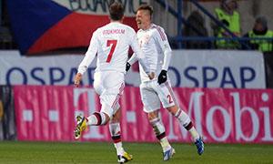Czech Republic 0-3 Denmark