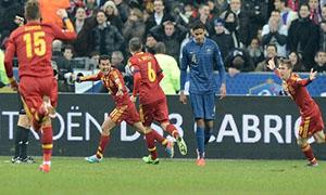 France 0-1 Spain