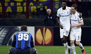 Inter 4-1 Tottenham Hotspur
