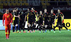 FYR Macedonia 0-2 Belgium