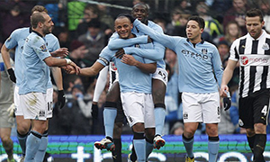 Manchester City 4-0 Newcastle United