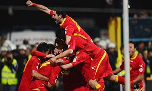 Montenegro 1-1 England
