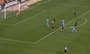 Napoli 1-1 Juventus