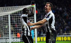 Newcastle United 1-0 Anzhi