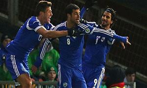 Northern Ireland 0-2 Israel