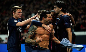Paris Saint-Germain 1-1 Valencia