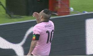 Palermo 2-0 AS Roma