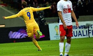 Poland 1-3 Ukraine