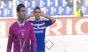 Sampdoria 1-0 Parma