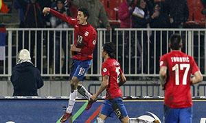 Serbia 2-0 Scotland