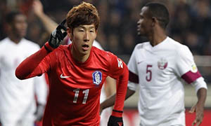 South Korea 2-1 Qatar