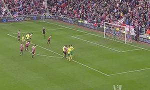 Sunderland 1-1 Norwich City