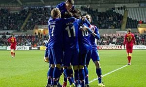 Wales 1-2 Croatia