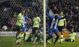 Wigan Athletic 2-1 Newcastle United