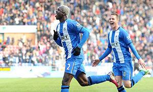 Wigan Athletic1-0 Norwich City
