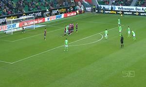 Wolfsburg 2-2 Nurnberg