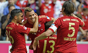 Bayern Munich 1-0 Freiburg
