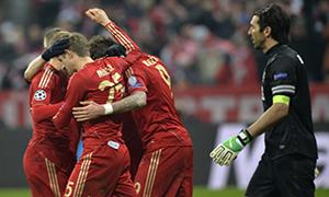 Bayern Munich 2-0 Juventus