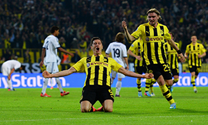 Borussia Dortmund	4-1 Real Madrid