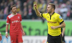 Fortuna Dusseldorf1-2 Borussia Dortmund