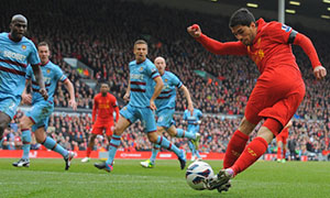 Liverpool 0-0 West Ham United