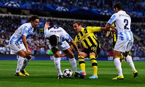 Malaga 0-0 Borussia Dortmund