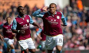 Stoke City 1-3 Aston Villa