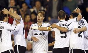 Valencia 2-1 Valladolid