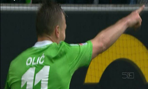 Wolfsburg 3-1 Borussia Monchengladbach