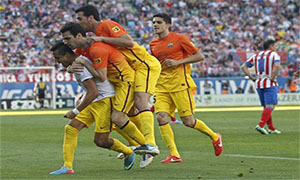 Atletico Madrid 1-2 Barcelona