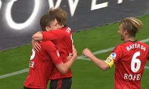Bayer Leverkusen 3-1 Hannover