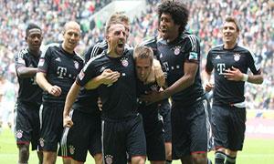 Borussia Monchengladbach 3-4 Bayern Munich