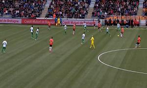 Lorient 3-1 Saint-Etienne