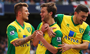 Manchester City 2-3 Norwich