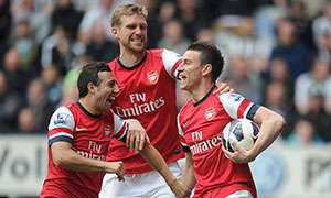 Newcastle United 0-1 Arsenal
