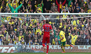 Norwich City 4-0 West Bromwich Albion
