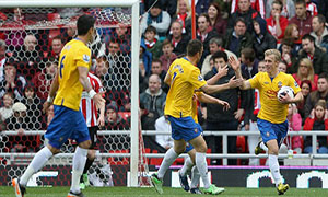 Sunderland 1-1 Southampton