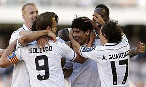 Valencia 4-0 Osasuna