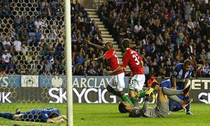 Wigan Athletic 2-3 Swansea City