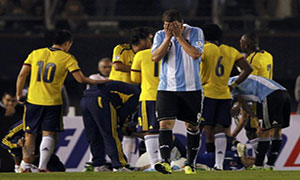Argentina 0-0 Colombia